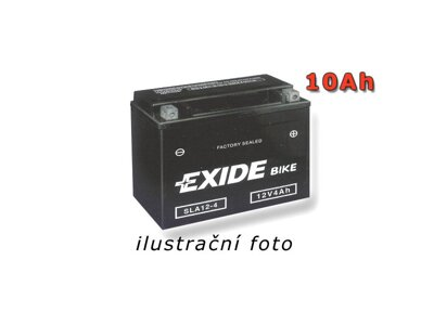 Motobaterie EXIDE BIKE Factory Sealed 9Ah, 12V, 190A, SLA12-9