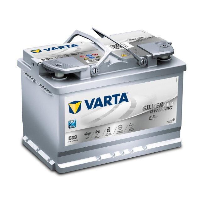 Купить запчасть varta - 580500073 start-stop f22 80/ч 580500073